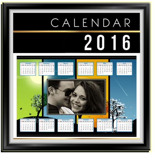 Calendar Frames 2015 攝影 App LOGO-APP試玩