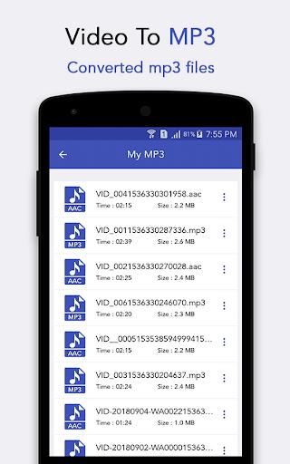 ? Video to MP3 105 screenshots 5