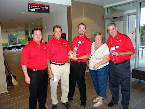 Photo: Stephen Lynch (RP), Bob Kilpatrick, Dan Redmond (CRC Co-Chair), Cathy Godin (CRC Registrar), Don Weekes (OVC Delegate)
