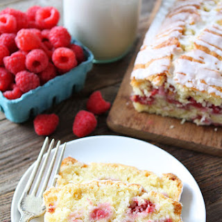 Coconut Raspberry Bread.