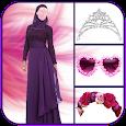 Cute Hijab Fashion Suit icon