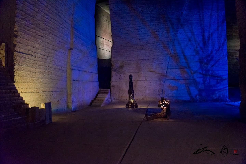 光と共存するアートオブジェ