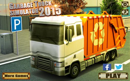 垃圾车模拟器2015
