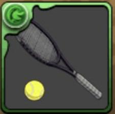 柳のテニスラケット