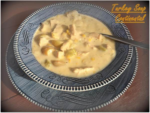 Turkey Soup Continental Recipe
