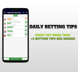 Leader Bet VIP Correct Score Tips 2