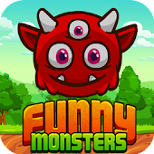 Funny Monsters- Fun Match 3