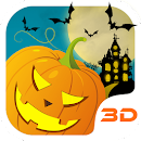 Halloween Pumpkin 3D Theme v 1.2.0