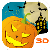 Halloween Pumpkin 3D Theme