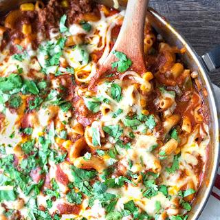 One Pot Mexican Macaroni Skillet Recipe