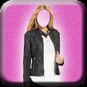 Women Jacket Photo Suit icon