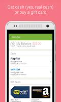Screenshot of Ibotta – Cash back Coupons.