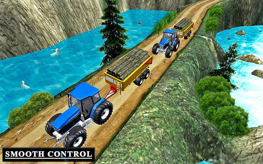Drive Tractor trolley Offroad Cargo- Free 3D Games android2mod screenshots 6