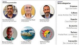 Premiados en la cuarta edición de los Premios Comarca de Níjar.