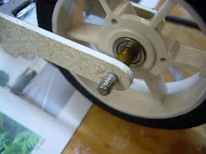 Photo: axe en inox (une chc recoupée)