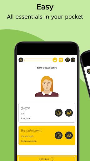 learn georgian language with master ling screenshot 3