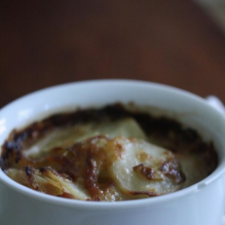 Potato-Leek Gratin with Fennel Recipe | Yummly
