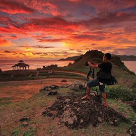 Lombok Landscape by Made Thee - People Professional People
