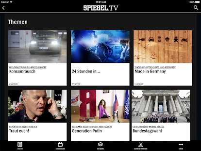 SPIEGEL.TV- screenshot thumbnail