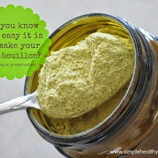 Homemade Vegetable Broth Powder
