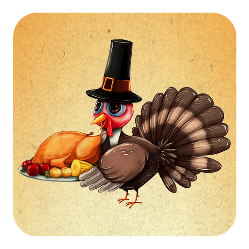 Turkey Time stickers for WhatsApp . WAStickerApps