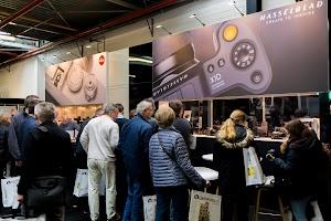 stands van Leica en Hasselblad