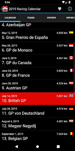 Racing Calendar 2019 (No Ads) APK (4 1) on PC/Mac! AppKiwi