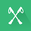 XWalk Nordic Walking Tracker and Motivational app icon