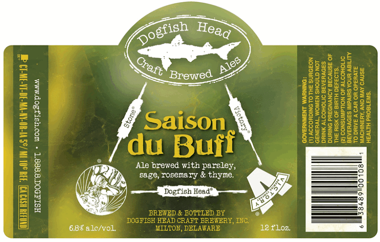 Logo of Stone / Dogfish Head / Victory Saison Du Buff