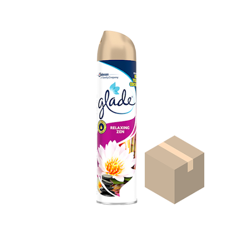 Glade Aerosol Relaxing Zen 12x300 ml