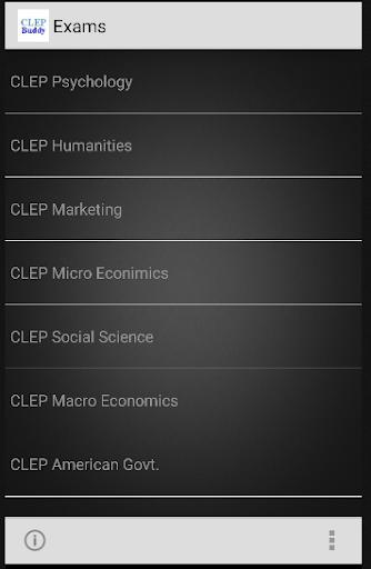 CLEP Exam Prep Study Tool