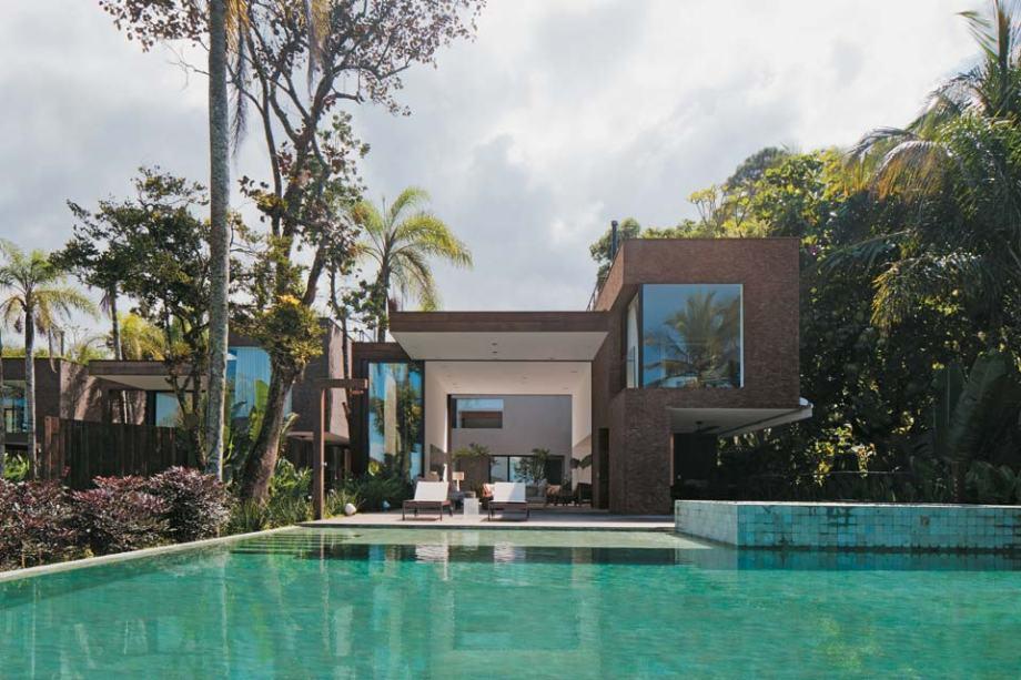 Casa sustentável no litoral paulista