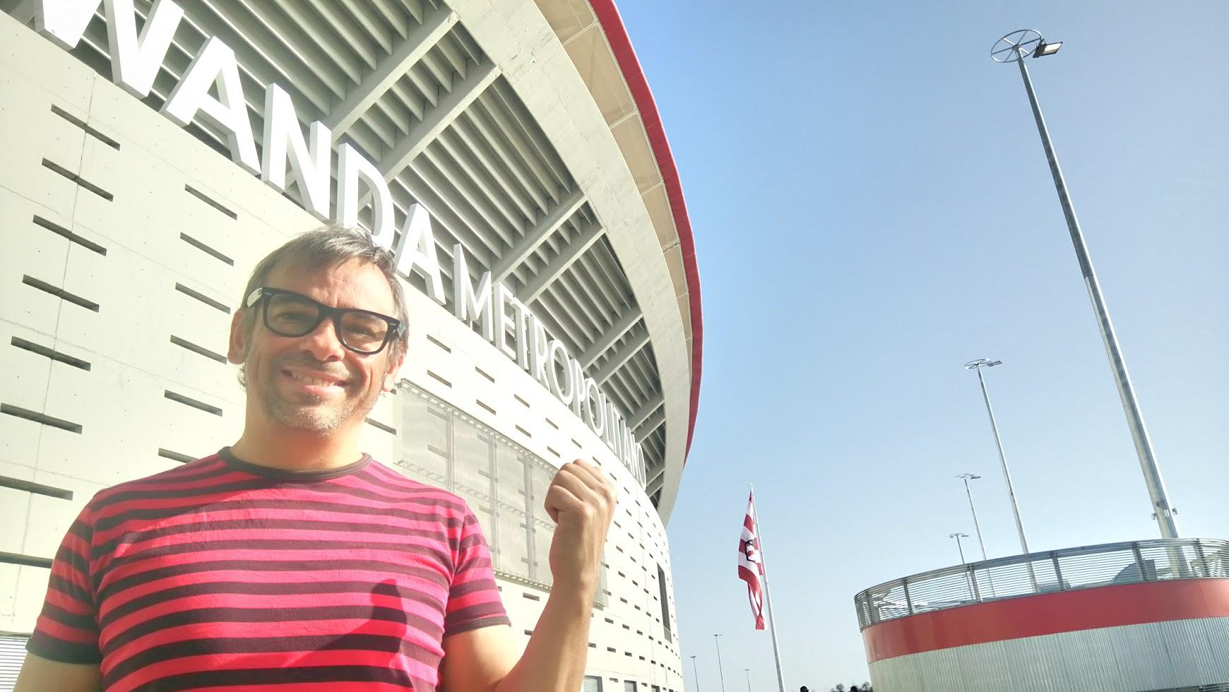 mago madrid magia en el estadio Metropolitano 2017