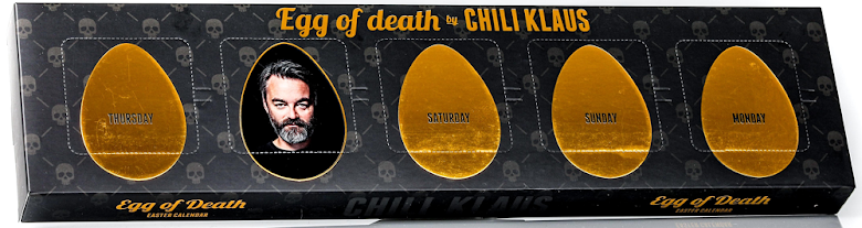 Påskkalender / Easter Calendar 2021 - Egg of Death – Chili Klaus