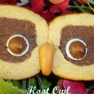 Hoot Owl Peanut Butter Cookies Recipe
