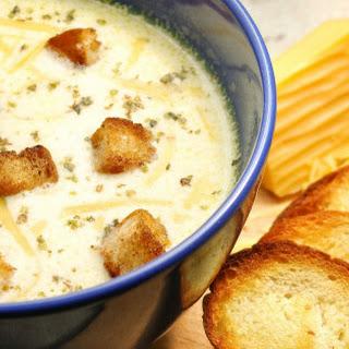 Cheesy Hash Brown Potato Soup.