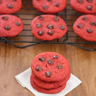 Chewy Red Velvet Cookies