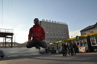 Photo: Improving my levitation skills