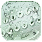 Rain Drops Keyboard Theme