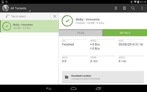 µTorrent® Pro - Torrent App screenshot 12