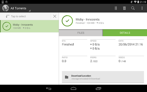 Utorrent Pro Apk Torrent Paid App Android 9