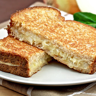 Caramelized-Onion Grilled Cheese Recipe
