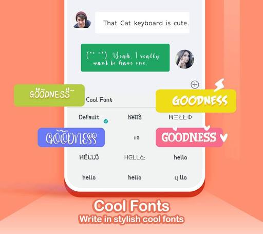 Kika Keyboard 2020 - Emoji Keyboard, Stickers, GIF 6.6.9.5856 Screenshots 4