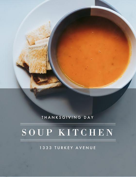 Soup Kitchen - Flyer Template