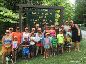 Photo: The gang's all here, at Half Moon State Park by Kelly Thompson.