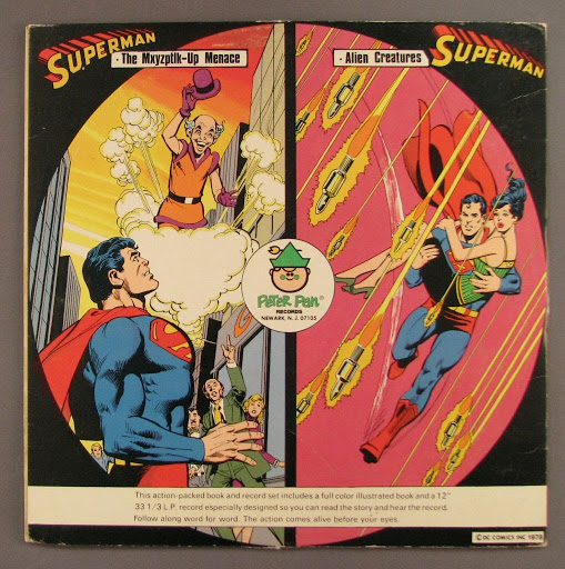 Book | record:Superman book and record set