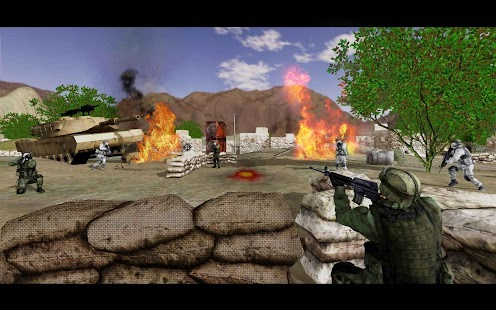 Mountain Sniper Counter Shooter 3D Shooting Game - náhled