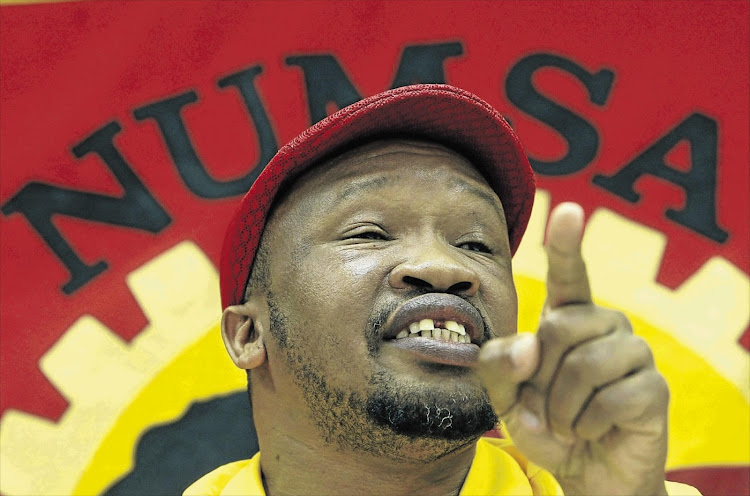 Numsa general secretary Irvin Jim. File photo.