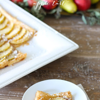 5 Minute Skinny Apple Tart