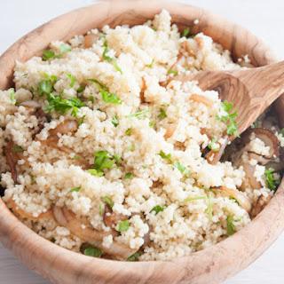 Simple Onion Couscous
